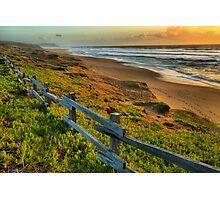 North Beach Sunset Photographic Print
