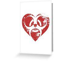 Toxic Heart Greeting Card