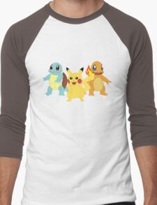 Pokemon Men's Baseball ¾ T-Shirt