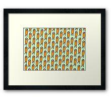Shiro Puff Framed Print