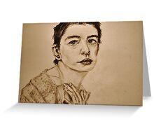 'I Dreamed a Dream' Anne Hathaway, Les Miserables Portrait  Greeting Card