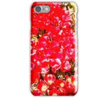 Red my color, my blood. iPhone Case/Skin