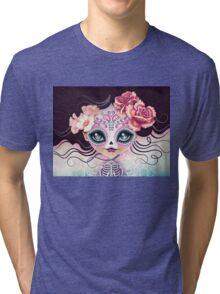 Camila Huesitos - Sugar Skull Tri-blend T-Shirt