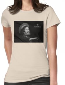 Stallman Think Different Womens Fitted T-Shirt