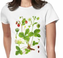 alpine strawberry Womens Fitted T-Shirt