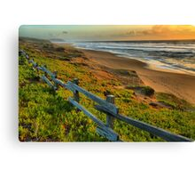 Pt. Reyes North Beach Sunset Canvas Print