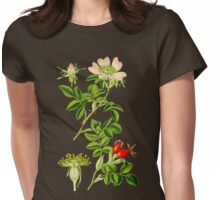 rosehip Womens Fitted T-Shirt