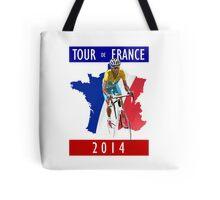 Le Tour 2014 Tote Bag