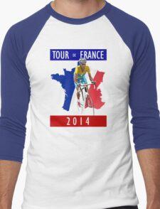 Le Tour 2014 Men's Baseball ¾ T-Shirt