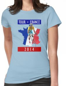 Le Tour 2014 Womens Fitted T-Shirt