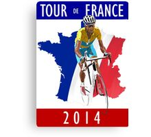 Le Tour 2014 Canvas Print