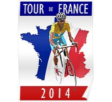 Le Tour 2014 Poster