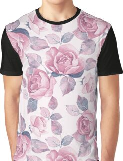 Roses. Floral garden Graphic T-Shirt