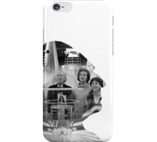 First Doctor Silhouette iPhone Case/Skin