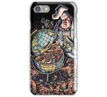 Global Wealth Barbecue Grill iPhone Case/Skin