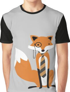 Monocle Fox Graphic T-Shirt