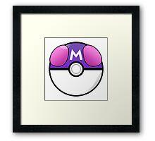 Masterball Framed Print