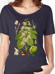 chestnut Women's Relaxed Fit T-Shirt