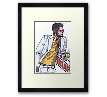 Fight Club #1 Selling Soap Framed Print