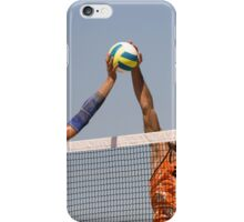 Fight at the Net iPhone Case/Skin