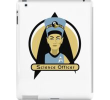 Science Officer Nefertiti iPad Case/Skin