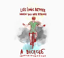 Life is better when you are riding a Bicycle - Road Bikes Classic T-Shirt