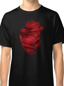 Red Scarlet Blood Rose Heart Classic T-Shirt