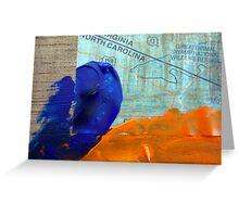 Collage Nr. 4: Great Dismal Swamp Greeting Card
