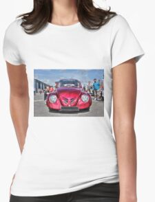 Red Beetle Womens Fitted T-Shirt