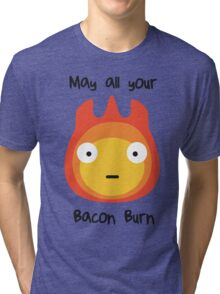 May All Your Bacon Burn Tri-blend T-Shirt