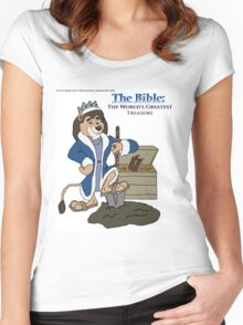 The World's Greatest Treasure Women's Fitted Scoop T-Shirt