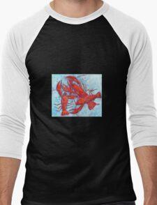 Crazy for Crayfish Men's Baseball ¾ T-Shirt