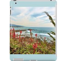 Laguna Beach Scenic View iPad Case/Skin