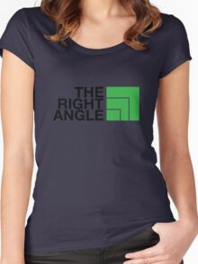 The Right Angle Women's Fitted Scoop T-Shirt