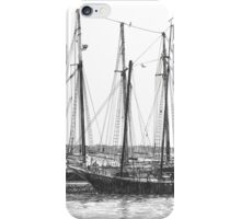 Schooners on the York River iPhone Case/Skin