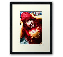 Dark Phoenix Framed Print