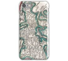 Vintage Map of Europe (1685) iPhone Case/Skin