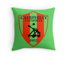 Caerphilly Catapults Throw Pillow
