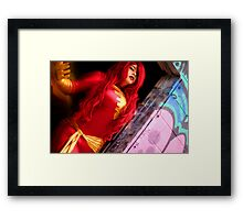 Dark Phoenix 2 Framed Print