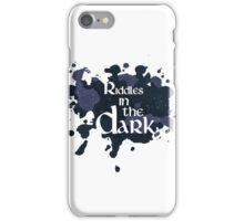 Riddles in the Dark iPhone Case/Skin