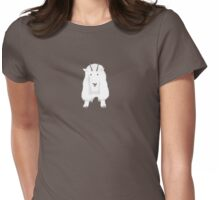 Mountain Goat Womens Fitted T-Shirt