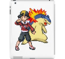 Gold and Typhlosion iPad Case/Skin