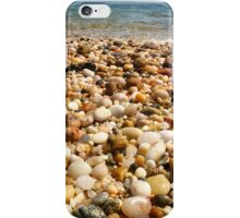Pebble Beach at Orient Point in Long Island iPhone Case/Skin
