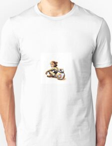 Star Wars Rey and BB-8 Unisex T-Shirt