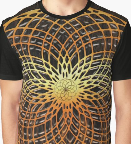 Color Wire Circle Mix Graphic T-Shirt