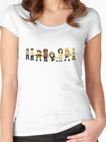 Firefly pixels Women's Fitted Scoop T-Shirt