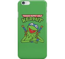 Teenage Muppet Ninja Kermit iPhone Case/Skin