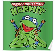 Teenage Muppet Ninja Kermit Poster