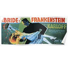 Bride of Frankenstein movie poster Poster