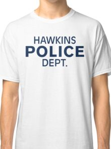 Hawkins Indiana Police Dept. Classic T-Shirt